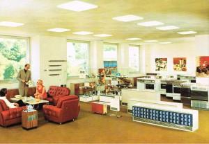 MAYBAUM Ausstellungsraum um 1972