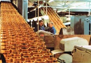 MAYBAUM-Fertigung elektrischer Wasserkocher um 1972