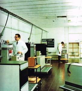 Das MAYBAUM Wärmelabor um 1972