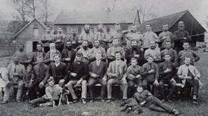 Belegschaft der Firma Maybaum vor 1900