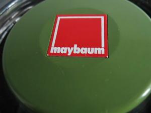 MAYBAUM-Pott Logo im Deckel